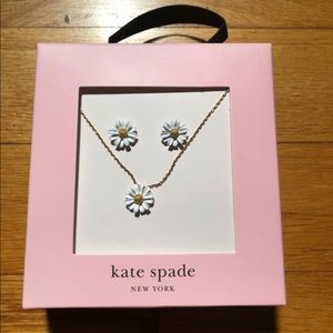 Kate Spade New York Earrings & Necklace Gift Set